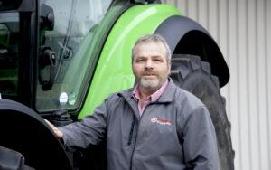 Jörg Hartmann, Verkauf Landmaschinen